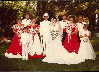 What NOT to wear at my wedding!!