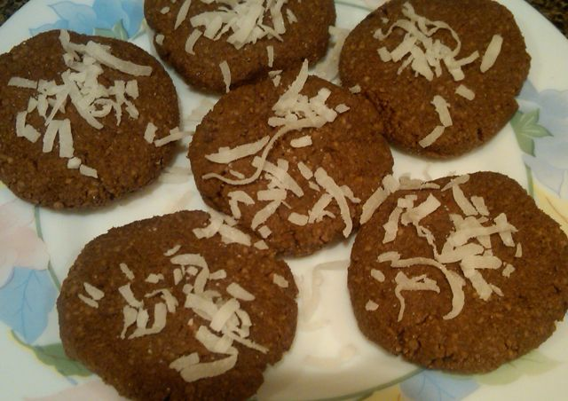 Chocolate Cookies, in the Raw